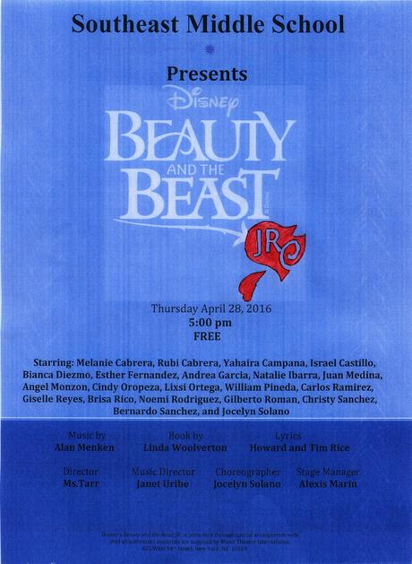 Beauty and the Beast Theater Performance